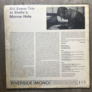The Bill Evans Trio ‎– Bill Evans Trio At Shelly's Manne-Hole - Riverside