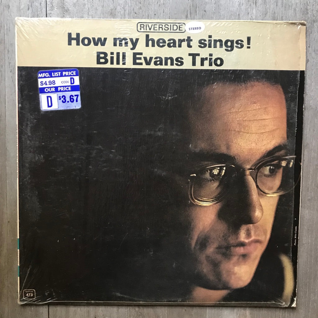 Bill Evans Trio ‎– How My Heart Sings - Riverside