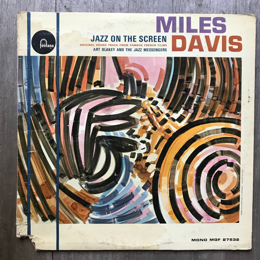 Jazz On The Screen - Miles Davis - Fontana