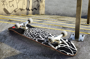Black Mountain Pattern Skateboard