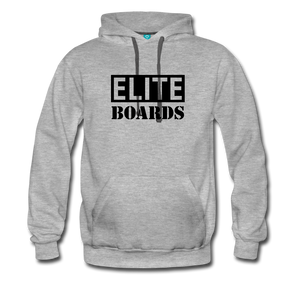 Elite-Boards Men's Premium Hoodie - heather gray