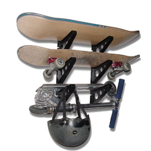 Maxfind Skateboard Wall Rack for Skateboard and Longboard Display