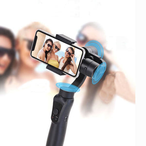 Maxfind Smooth  3-Axis Brushless Bluetooth Handheld Smartphone Gimbal Stabilizer For iPhone&Android