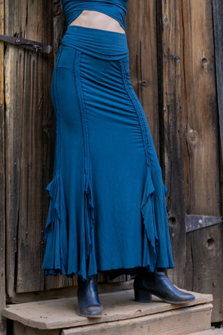 Flamenco Skirts - Teal