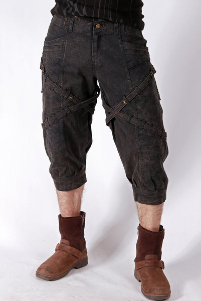 Org. Canvas Ace Britches - Coal