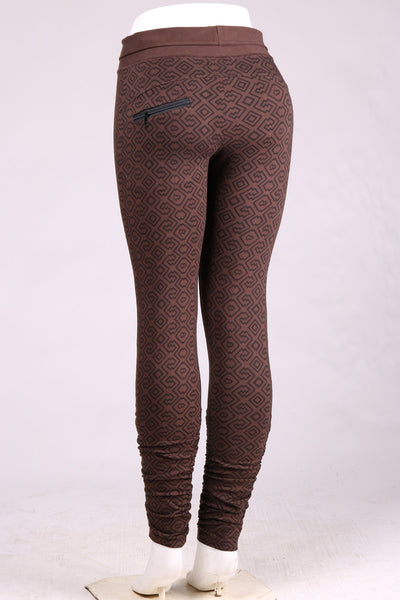 Amazonia Leggings - Chocolate