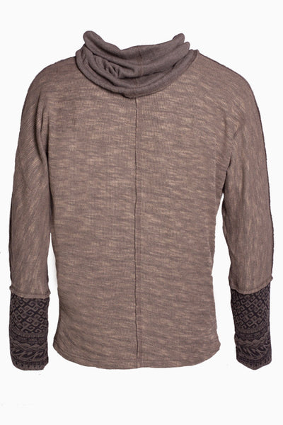 Psylo Baggy Sweater - Misty Brown