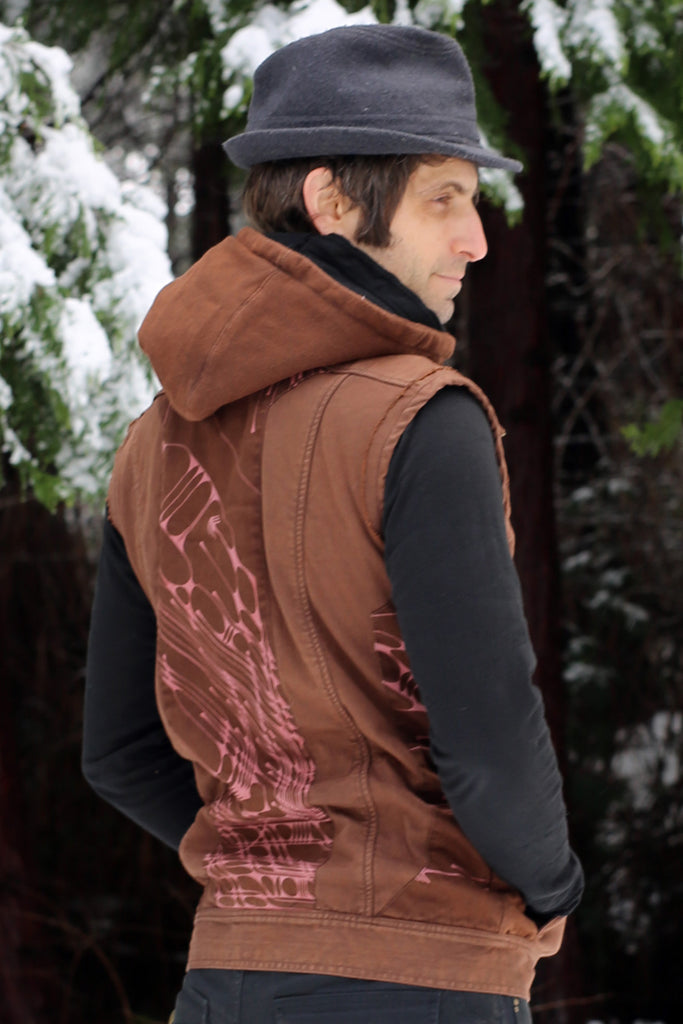 Sigil Vest w/EMF Blocking Hood - Rust Arrows