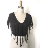 Fringy Crazy Top
