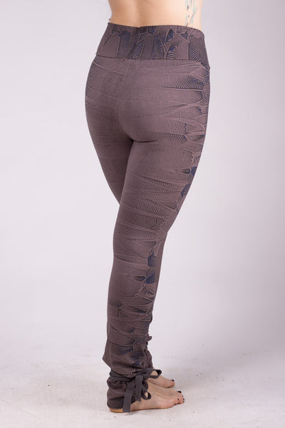 Psy Crystal High Leggings - Charcoal