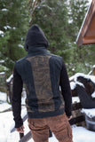 Sigil Vest w/EMF Blocking Hood - Black Wings