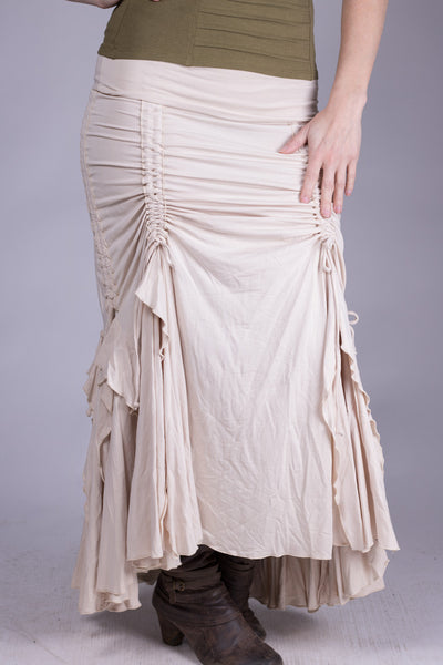 Flamenco Skirt - Cream