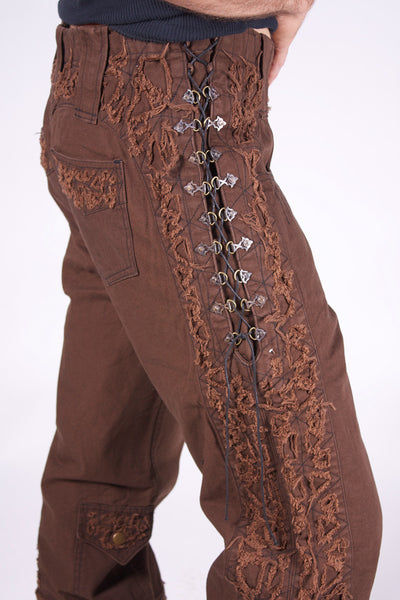 Flamenco Pants - Brown