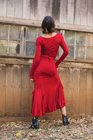 Flamenco Skirts - Red