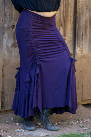 Flamenco Skirts - Purple