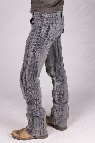 Gaucho Pants - Charcoal