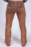 Gaucho Pants - HD Stretch - Golden Ochre