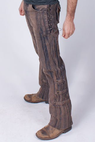 Gaucho Pants - HD Stretch - Gold Dust