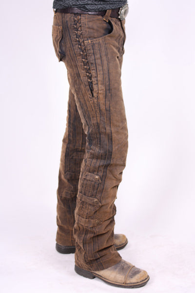 Gaucho Pants - Rust Dusted