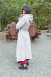 Kaftan Coat - Starduster - Cream