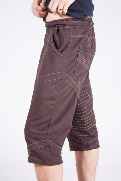 Kimoto Yoga Shorts - Chocolate