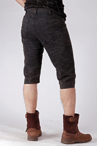 Org. Canvas Kimoto Shorts - Coal