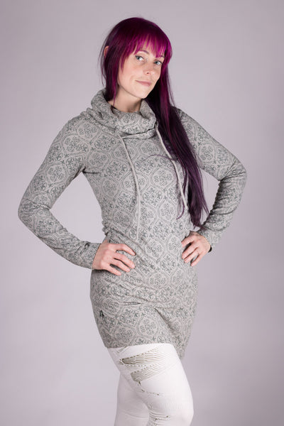 Psy Livia Dress - Pearl Grey