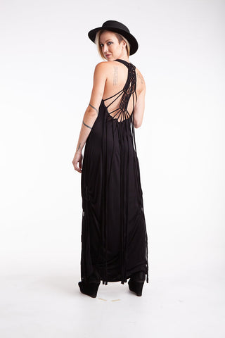 Macrame Long Dress