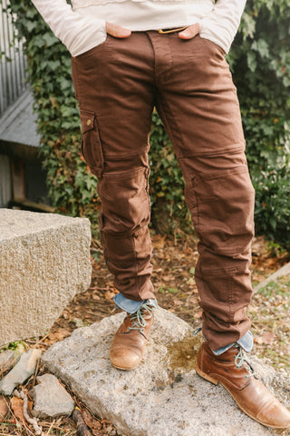 Moto Maxx Pants - Brown