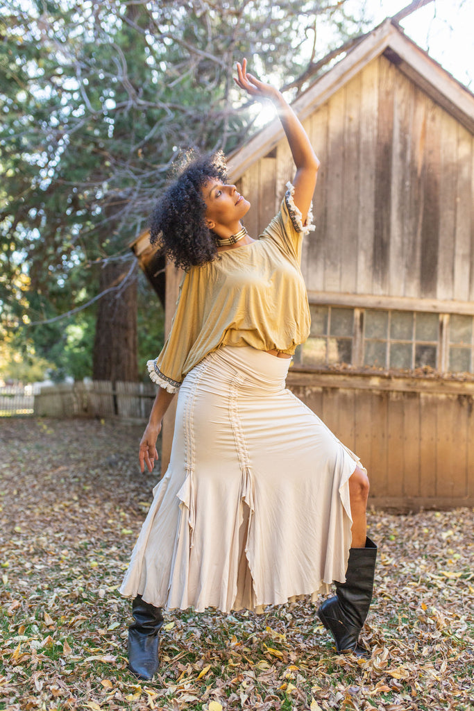 Boho Blouse - Golden
