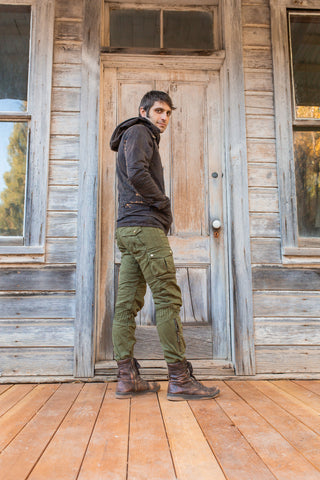 Moto Maxx Pants - Army Green