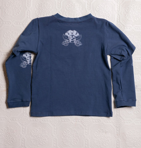 Organic Adventure T's - Teal Pirate