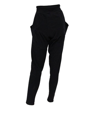 High waisted organic cotton Origami jogger pants