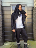 Men's Long ninja hoodie Jacket