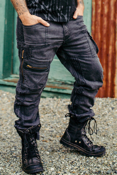 Stryder Cargo Pants - Charcoal