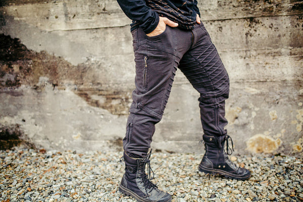 Kimoto Pants - Black Washed