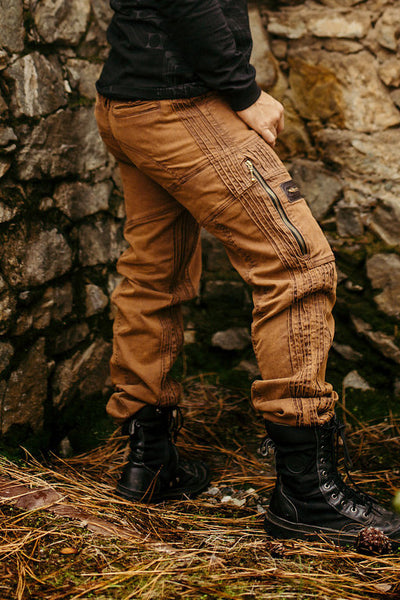 Stryder Cargo Pants - Brown Wash