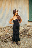 Flamenco Dress - Black