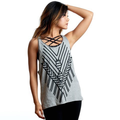 Tribal Diamond Tank