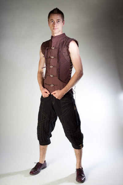 Shipibo Vest - Brown