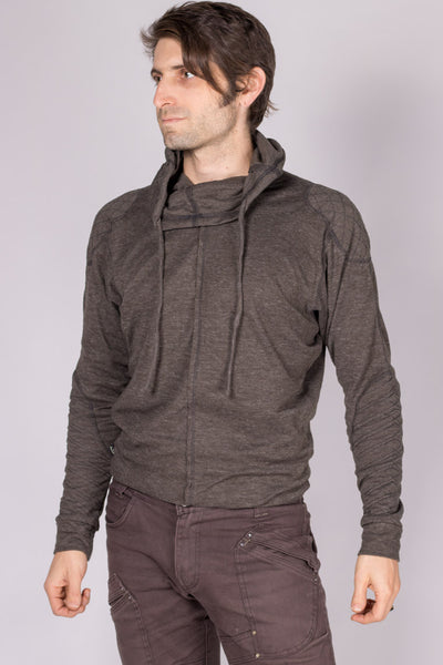 Psy Spacey Jumper - Charcoal