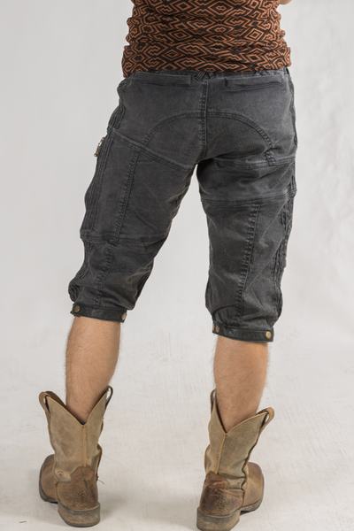 Stryder Cargo Shorts - Organic Cotton - Charcoal