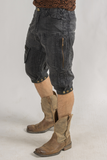 Stryder Cargo Shorts - Organic Cotton - Coal