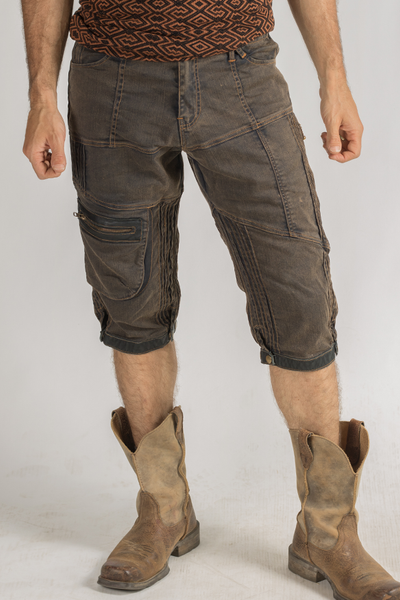 Stryder Cargo Shorts - Organic Cotton - Gold Dust