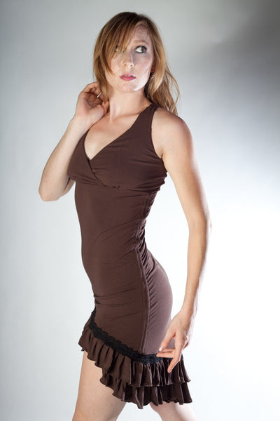 Tango Dress - Brown