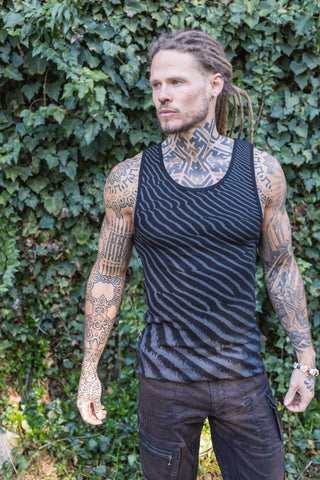 Men's Bamboo/Cotton Singlets - Wind
