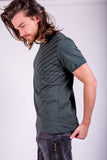 Mens T'shirts Org. Cotton - Wind - Gray