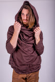 Mens Cowl Hood Tops