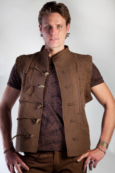 Web Vest - Brown