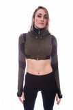 Freq G Hooded Crop Jacket